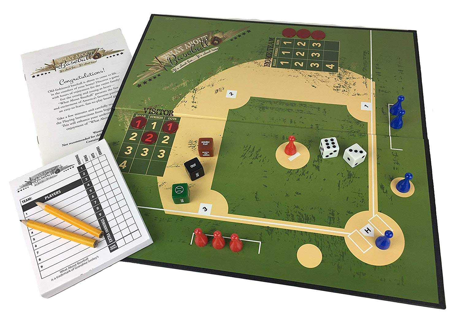 Grandma Smiley S What About Baseball Board Game Toy